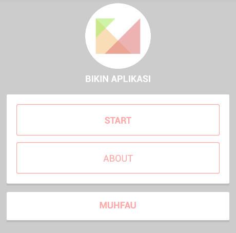 Buat Aplikasi Android tanpa Coding