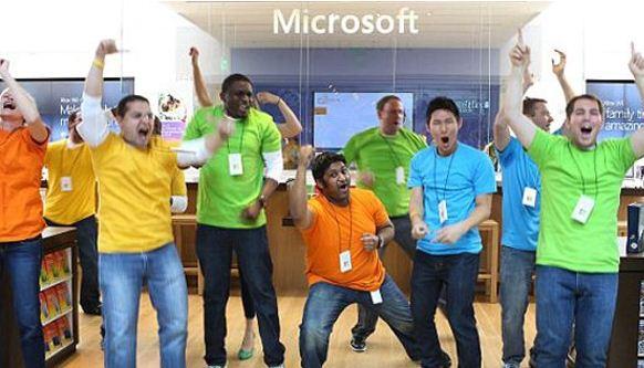 Karyawan Microsoft