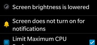 BlackBerry kini dilengkapi Battery Saving Mode