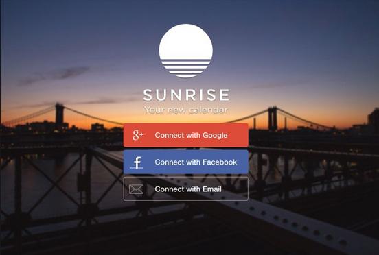Aplikasi Sunrise