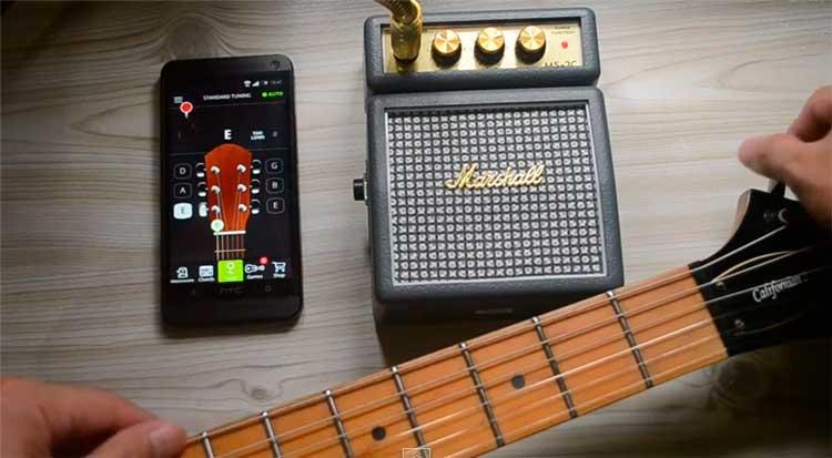 Aplikasi Effect Gitar Pada Android