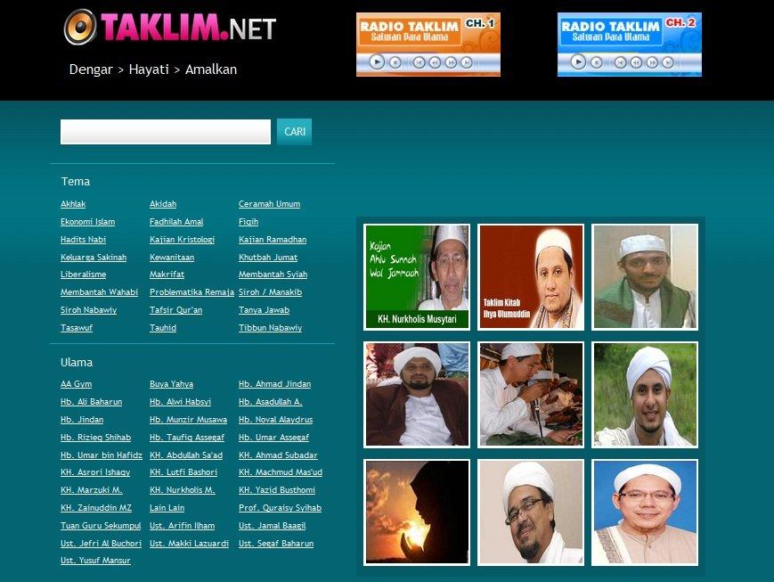 Mengejar Pahala Ibadah Ramadhan dengan Aplikasi Ceramah  Dari Gagdet Anda