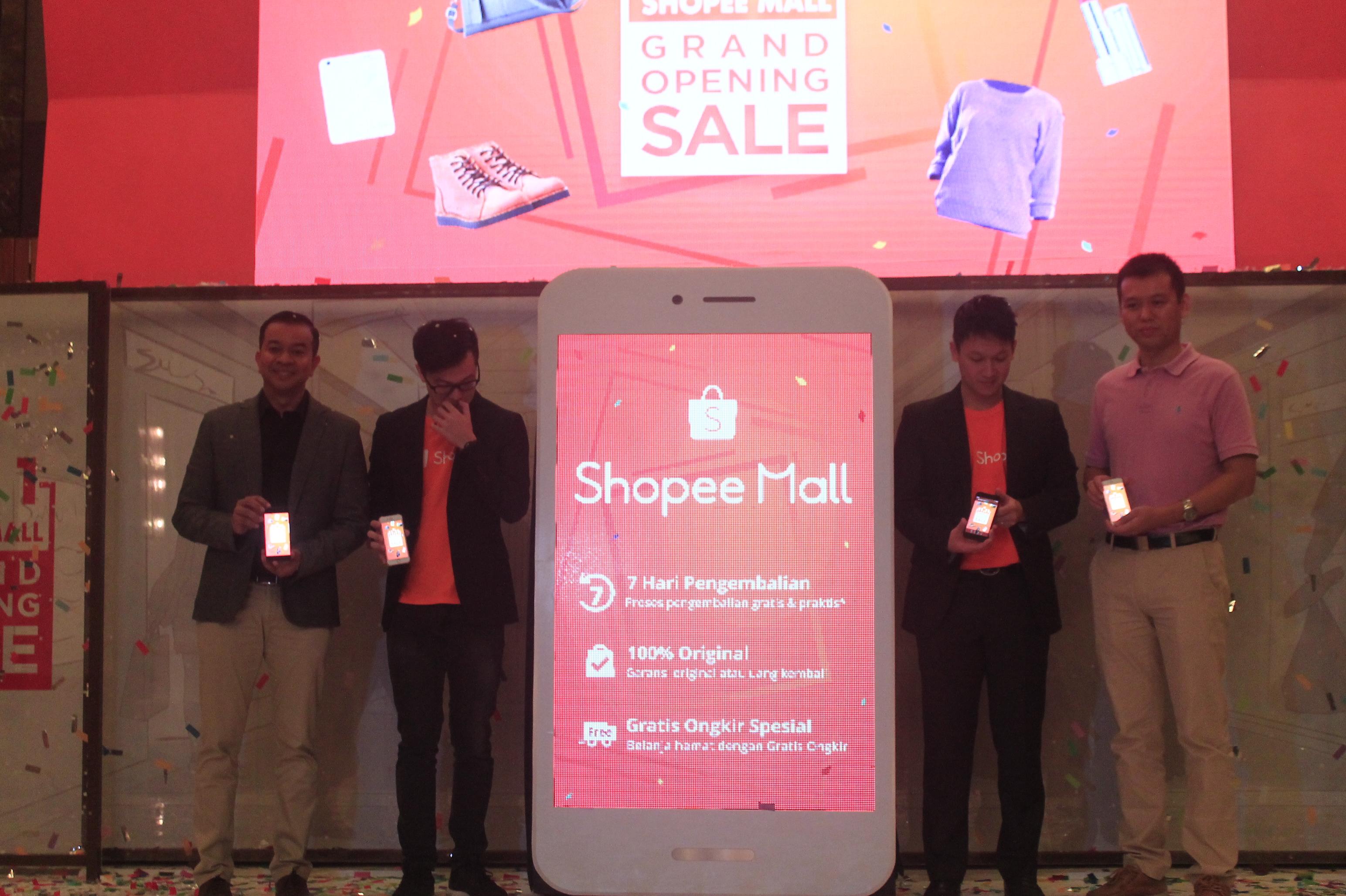 Shopee Luncurkan Mall Dalam Genggaman