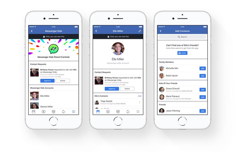 Facebook Luncurkan Messenger Kids Untuk Anak-Anak