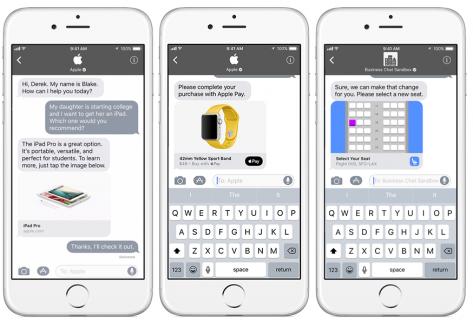 Apple Luncurkan Business Chat sebagai lawan WhatsApp for Business