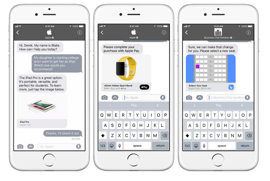 Apple Umumkan Lawan dari WhatsApp for Business