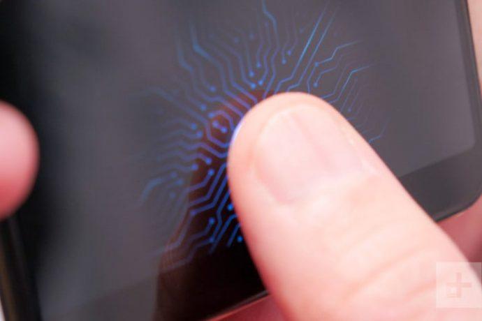 Sensor sidik jari di dalam layar pertama milik Vivo