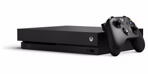 Desain Xbox One X