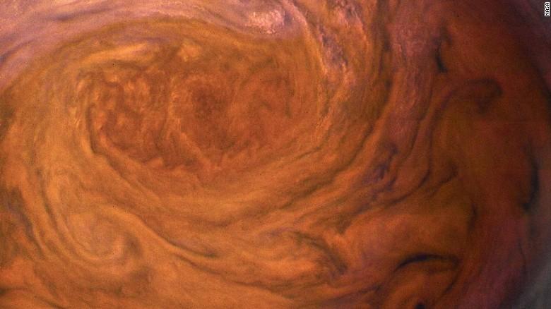 NASA: Jupiter Memiliki Badai Paling 'Gila'