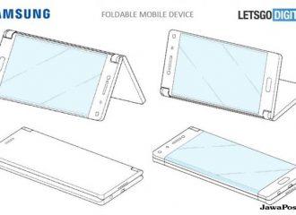 smartphone tiga layar