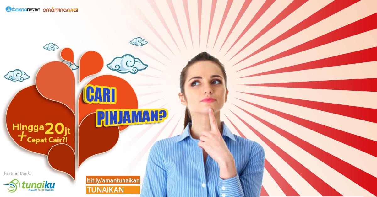 Tunaiku,Pinjaman Online,Fintech,Bank Ammar