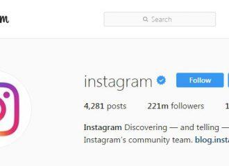 verifikasi akun instagram