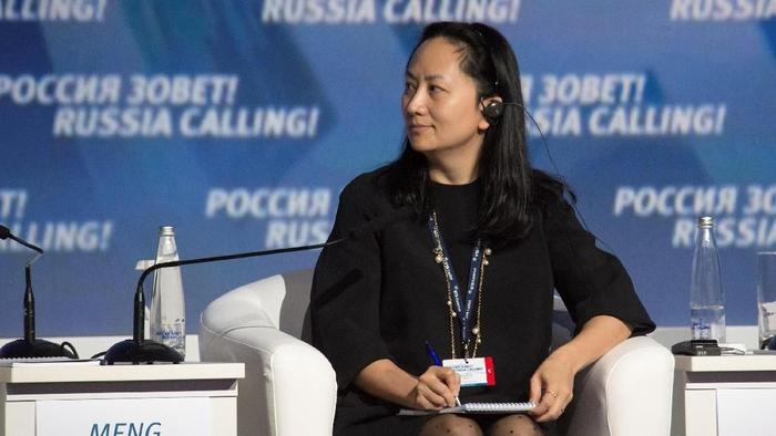 Meng Wanzhou, Bos Huawei Ditangkap di Kanada