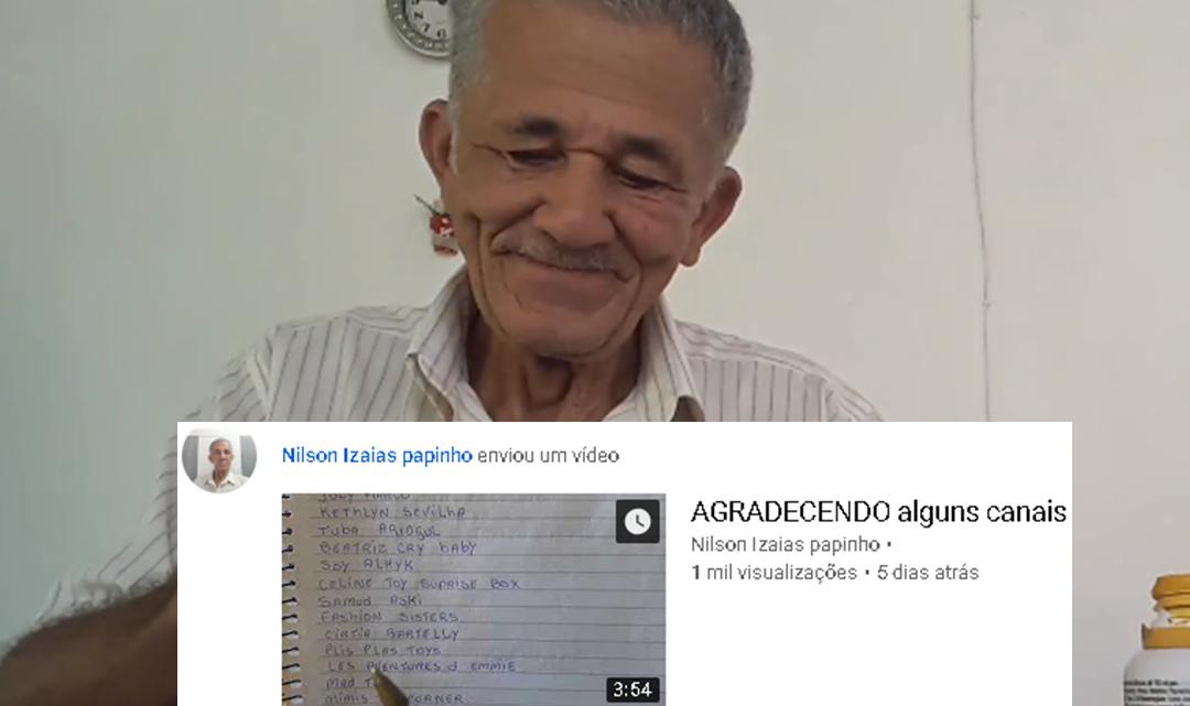 Kakek Youtuber Tulis Semua Nama Subscriber-nya sebagai Bentuk Terima Kasih