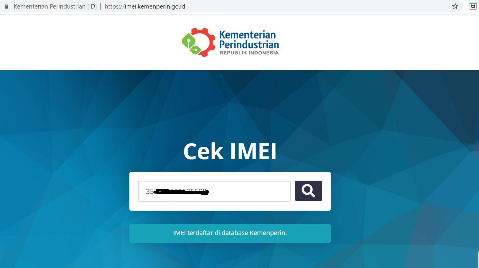 Yakin Ponsel kamu resmi? Yuk cek IMEI nya di situs ini agar tidak diblokir