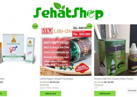 sehatshop,web,herbal online