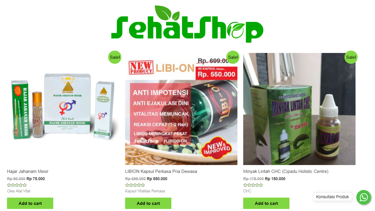 Cari Herbal via Online? Website E-commerce ini jawabannya!