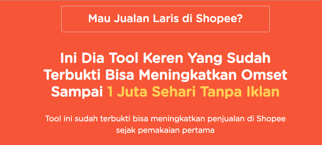 Tools Optimasi Shopee: Booster, Scrape, Riset – Lengkap